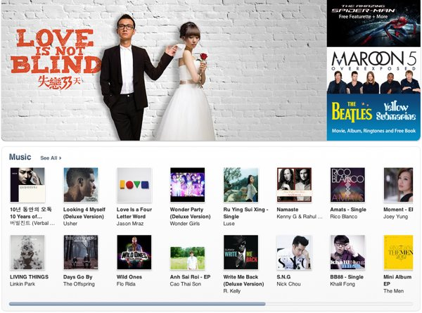 Apple opens iTunes Store in Hong Kong, Taiwan and 10 other AsiaPacific countries