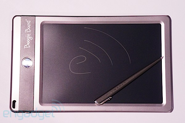 BoogieBoard Jot eWriting pad hands-on (video)