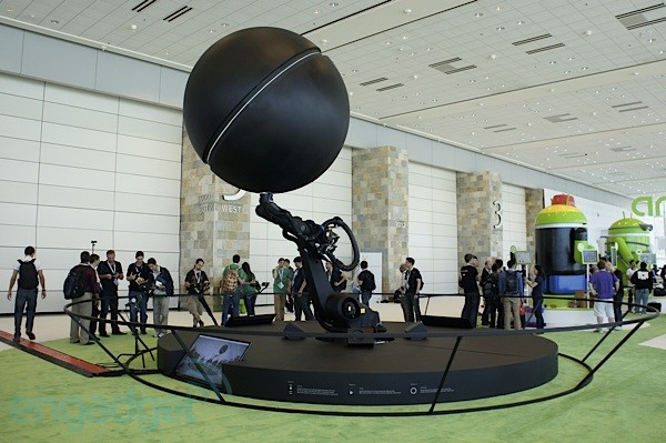 Visualized: Kinetisphere takes Nexus Q into another dimension at Google I/O 2012
