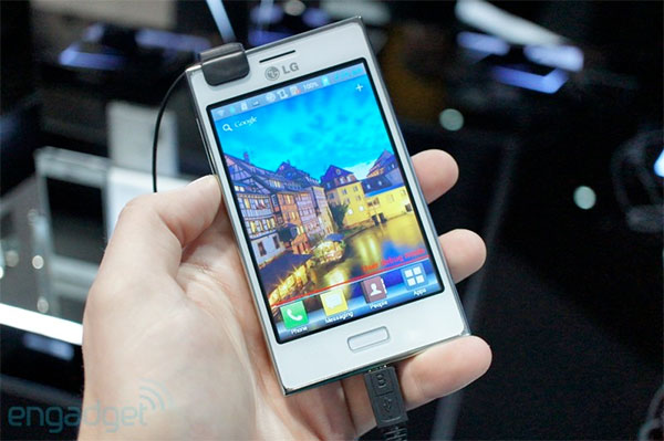 LG Optimus L5 to complete the Lstyle ensemble later this month