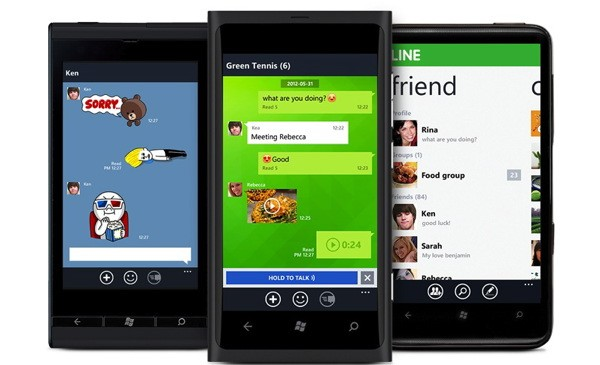 Navers Skype rival Line arrives on Windows Phone