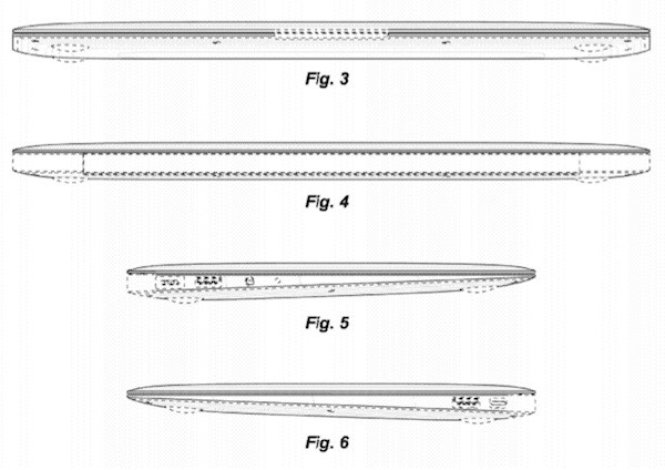Apple snags broader design patent for the MacBook Air's wedge shape