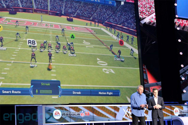 Xbox 360 software at E3 FIFA 2013  Madden 2013 gaining Kinect voice commands, Halo 4, Fable, Forza Horizon and Gears of War showcased