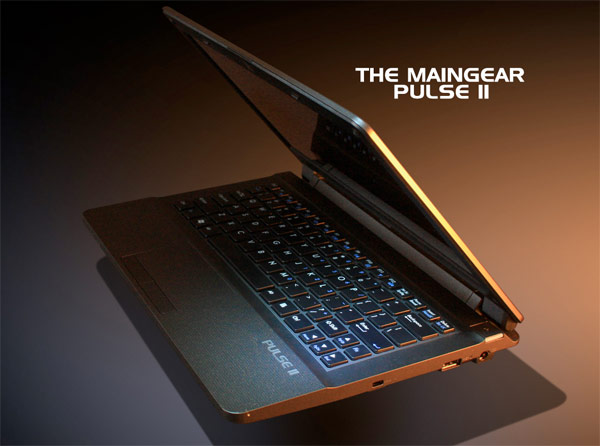 maingearpulse11 Maingears 11.6 inch Pulse 11 gaming laptop starts shipping