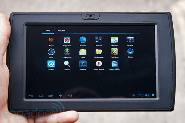 Matrix One is a $99 Android ICS tablet that could ship to retailers next month but probably won't handson video