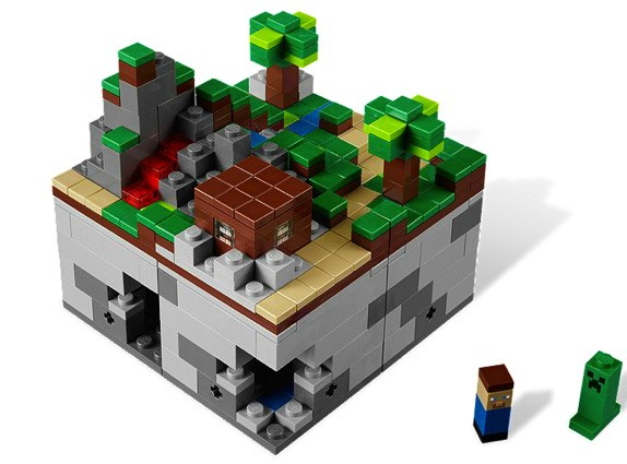 Lego Minecraft arrives
