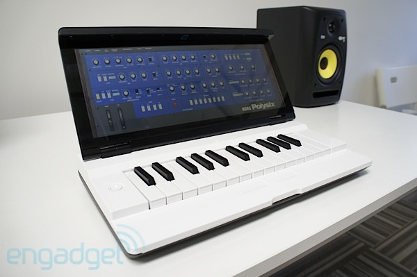 Miselu Neiro synth at Google I/O: exclusive first look at apps from Korg and Yamaha