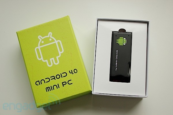 MK802 Android 40 Mini PC handson impressions