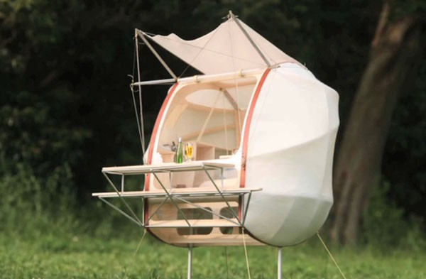 Japanese Company Takes Pod Concept Mobile Keeps Ants From
