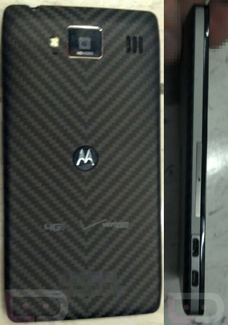 Motorola Droid RAZR HD's backside possibly leaked we hope you like Kevlar