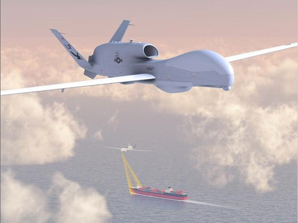 Northrop Grumman Unveils US Navy's MQ4C BAMS Triton unmanned aircraft
