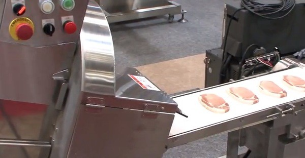 Nantsune meat slicer scans 3D shapes to get the perfect cut, bring home the bacon in record time video