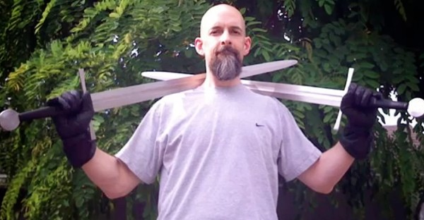 Insert Coin Clang, a motioncontrolled, realistic swordfighting game by none other than Neal Stephenson