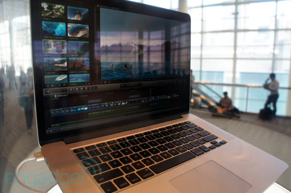 Apple nextgeneration MacBook Pro with Retina display eyeson at WWDC 2012