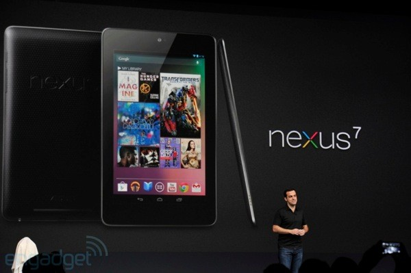Google makes the Nexus 7 tablet official: Android 4.1 Jelly Bean ...