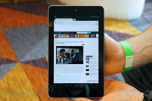 Nexus 7 8GB coming to UK midJuly for 159, 16GB version arriving at retailers July 27th for 199