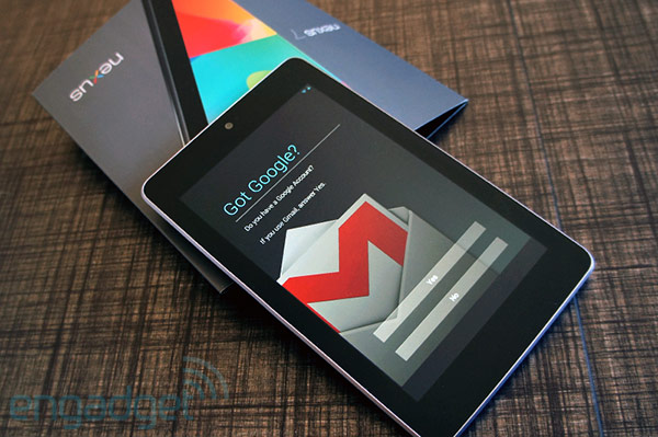 Engadget Giveaway win one of three Nexus 7 units, courtesy of Poweramp!