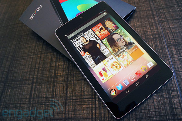 Nexus 7 review home screen