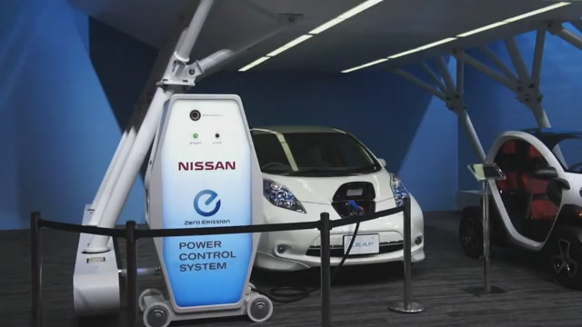 Nissan Leaf Charger To Power Home