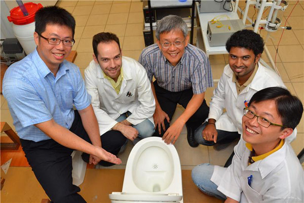 Scientists develop flush-efficient toilet system that can turn waste into energy, sort before it recycles