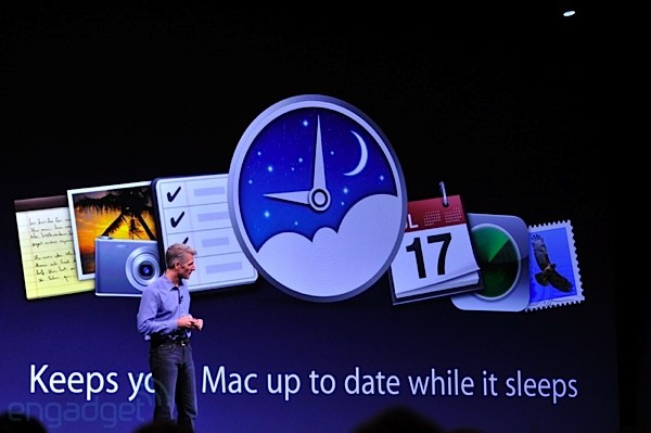 Apple introduces Power Nap, updates your Mac while it