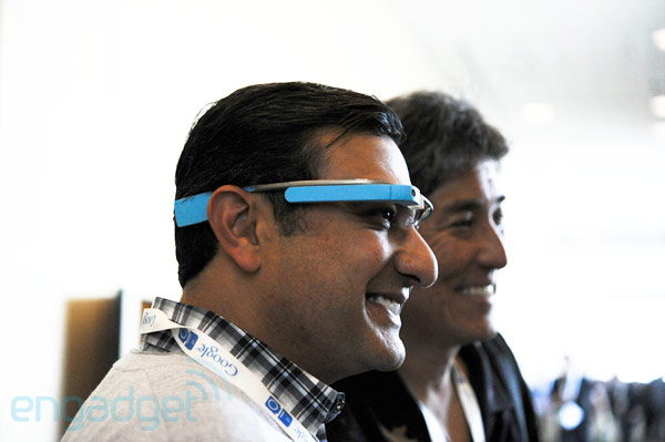 More Google Glass details experimenting with connectivity options, control possible via voice commands