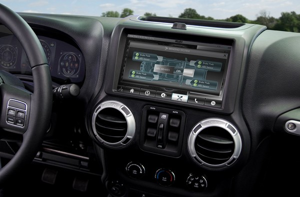 QNX unveils Jeep Wrangle reference vehicle for offroad Facebookers