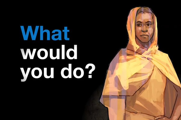 DNP New Android app designed by the United Nations asks if you could survive as a refugee video