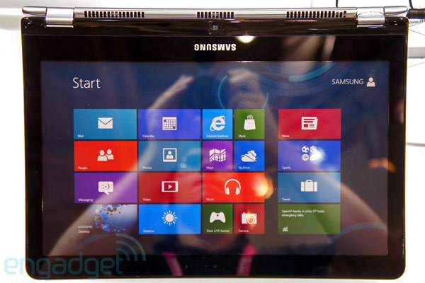 Samsung demos Series 5 Ultra Touch and Series 5 Ultra Convertible Ultrabooks, we go handson