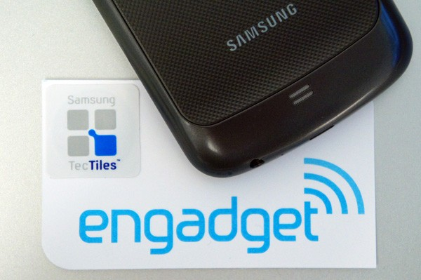 Samsung TecTiles programmable NFC stickers for your Galaxy S III
