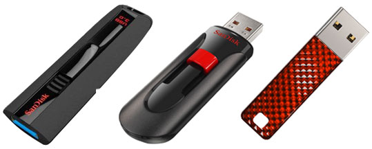 SanDisk outs Extreme USB 30 flash drive alongside a trio of Cruzers