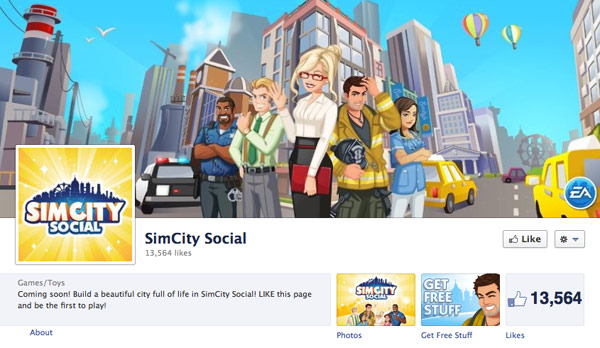 SimCity Social finds a home on Facebook, destiny winks in approving fashion