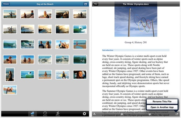 Microsoft updates SkyDrive app for iPad with Retina Display support, filesharing features