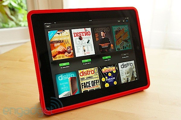 iPad's Smart Case handson