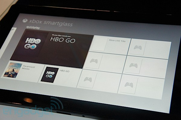 Microsoft SmartGlass impressions