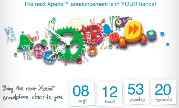 Sony teases new Xperia phone unveiling in days, wants you to speed it up on Facebook