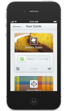 Square lets merchants offer first time deals, reward regulars with digital 'punch' cards video