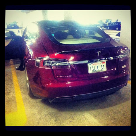 Tesla delivers first Model S a little early, EVs take a big step forward