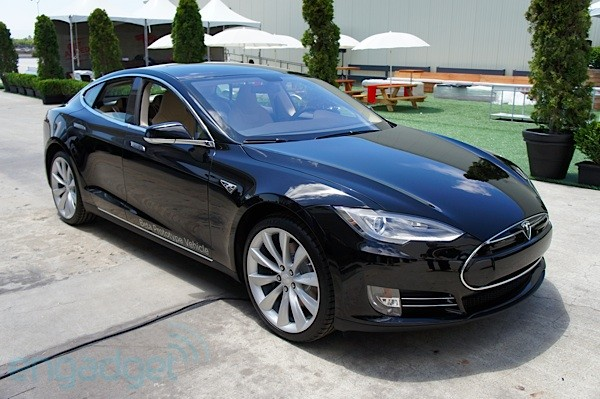 DNP EMBARGO  Tesla Model S first drive the sports sedan goes electric video