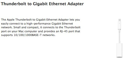 Apple serves up Thunderbolt update, adds Ethernet adapter support, reportedly squashes boot issues