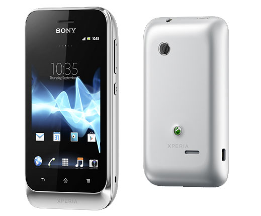 Sony Xperia tipo dual shares SIMs, still fits in tiny pockets