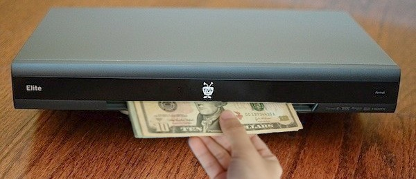 TiVo and PayPal let you buy stuff using your remote, hopes you swing past the shopping channel