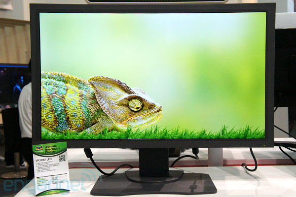 ViewSonic VP3280LED 315inch 4K monitor prototype handson video