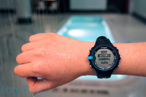 Garmin Swim watch tracks your water workouts, we hit the pool