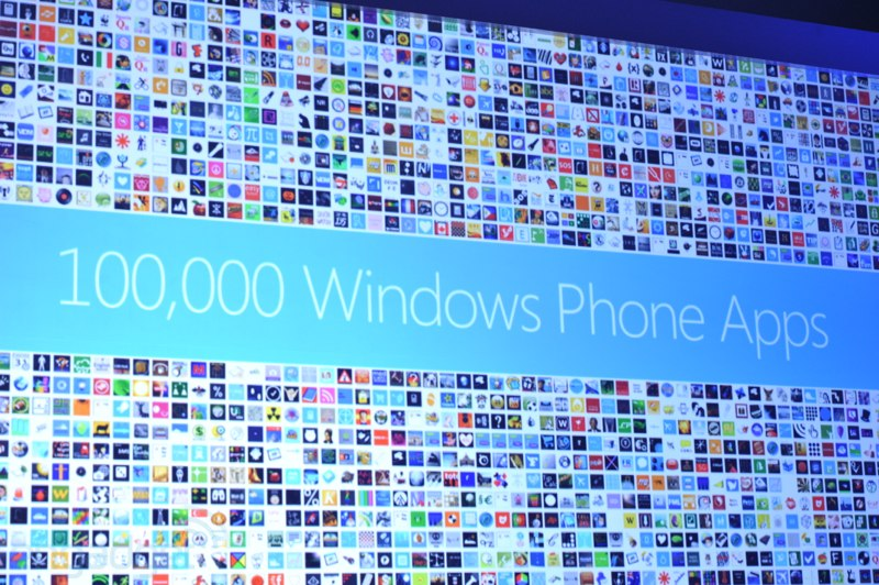 Windows Phone Marketplace now has 100,000 published apps, counts Words with Friends and Draw Something among 'em