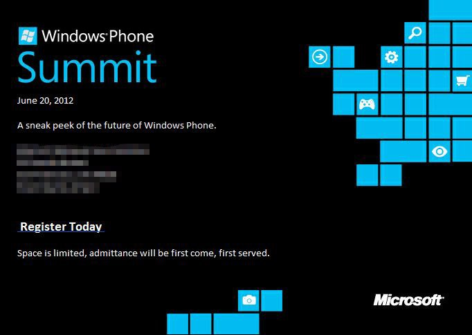 Microsoft to offer Windows Phone 8 'sneak peek' on June 20th