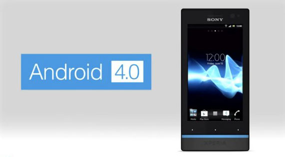Sony Xperia S gets Android 40 update