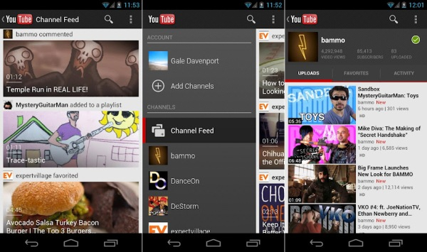 YouTube for Android 40 ends buffering on your favorite videos with precaching, adds remote