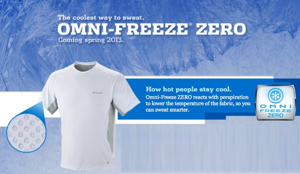 Columbia announces OmniFreeze ZERO, a tshirt that cools you down