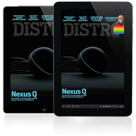 Distro Issue 48 arrives with the Nexus Q, Levar Burton and more